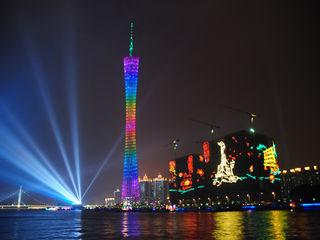 [施工紀實]世界第一高塔-廣州新電視塔(廣州塔)610米
