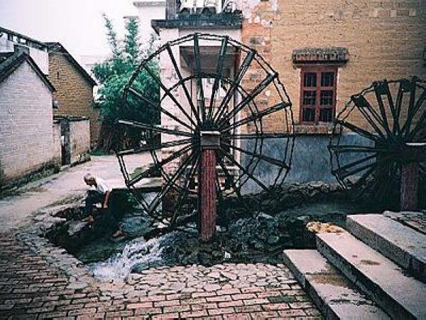 景点  金林水乡风景区 金林古城建于明代,拥有一千七百多年的历史,是