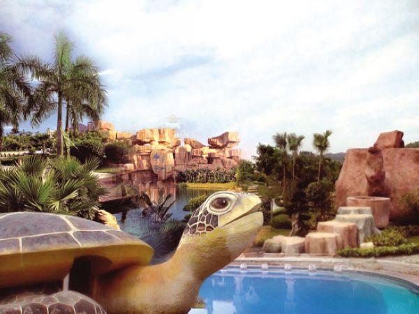 景点简介巽寮湾海滨温泉 海滨温泉度假村为五星级温泉旅游度假区