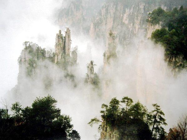 韶山风景区景点分布图