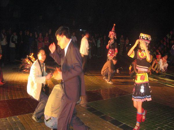 瑶族篝火晚会