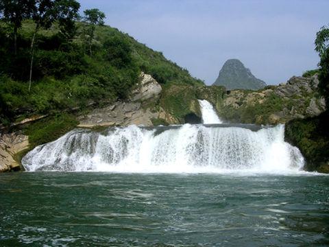壁纸 风景 旅游 瀑布 山水 桌面 480_360