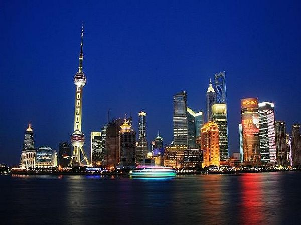 大海城市夜景壁纸
