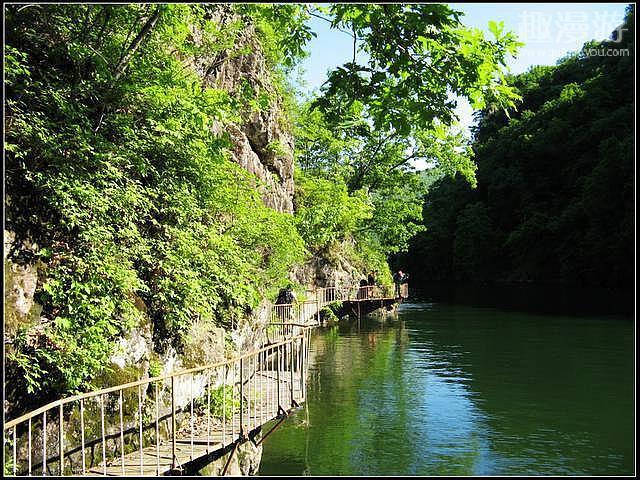 千山风景区龙泉河