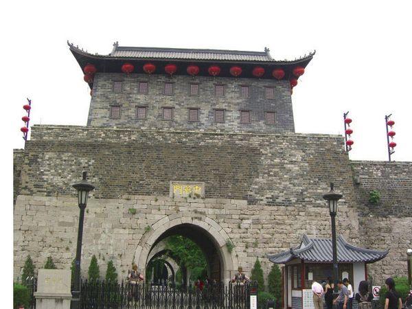 中华门城堡 南京明城墙有着近600年历史