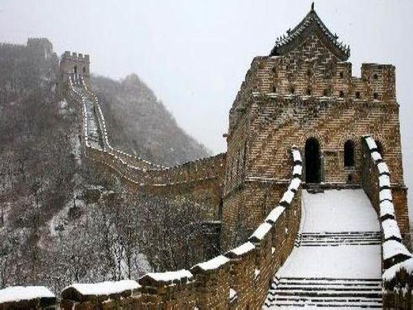 景点介绍: 八达岭长城:位于北京市延庆县军都山关沟古道北口.