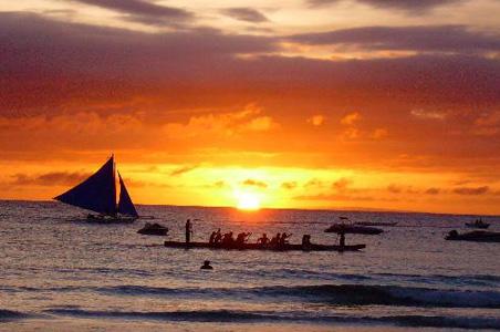 长滩岛3晚5日半自助游>保证入住皇冠丽晶,编织您的菲