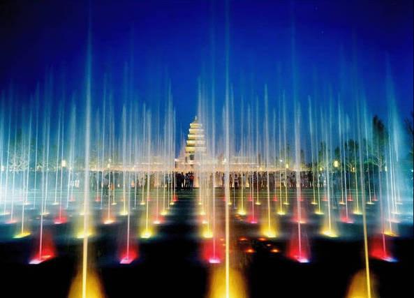 喷泉广场——大雁塔北广场