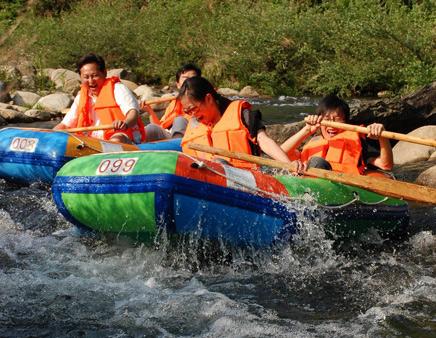 北京欢乐水魔方  (15)  长隆野生动物园   景点简介 养生河皮筏漂流