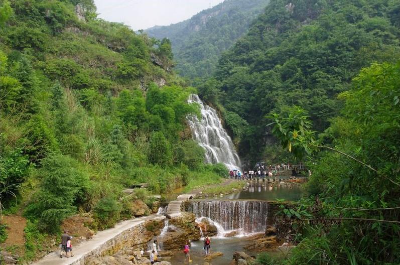 天意谷天河1观瀑