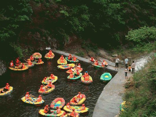 英山黄金谷漂流-英山县旅游景点推荐