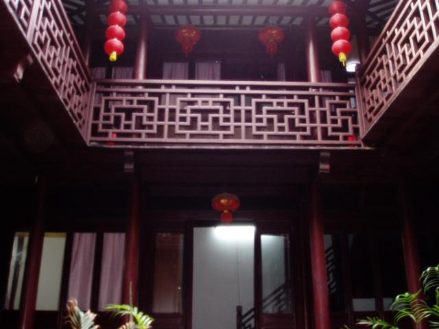 中国古代客栈简笔画