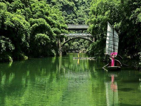 风景区三峡大瀑布宜昌三峡人家风景区情人泉旅游区
