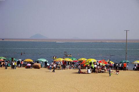 上海金山海滨沙滩-采摘葡萄游>激情海边