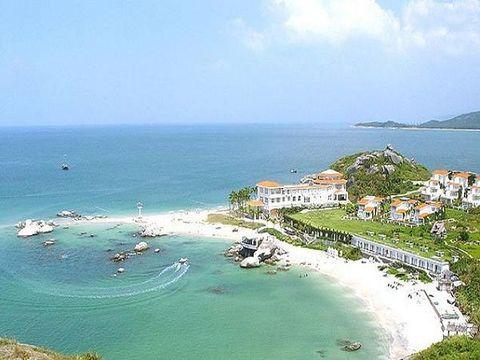 巽寮湾浪漫海岛-三角洲岛自驾2日游>宿海尚湾畔酒店湾景房