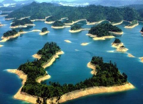 千岛湖2日游>中心湖 百岁峡抢滩漂流 红石湾