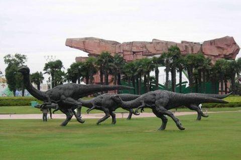 常州恐龙园1日游 东方侏罗纪,4D过山车