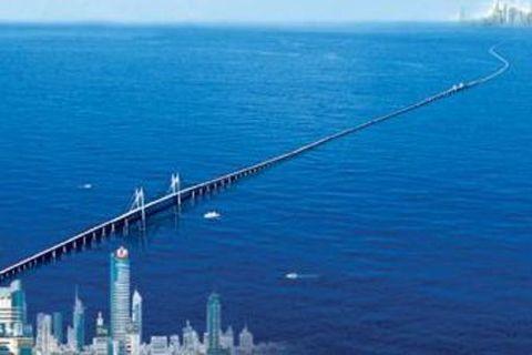 青岛跨海大桥-海底隧道-金沙滩1日游>散客天天发 酒店免费接